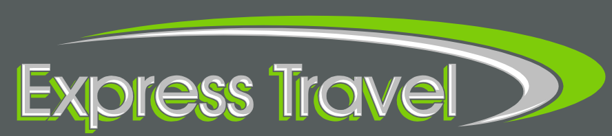 Express Travel Logo background